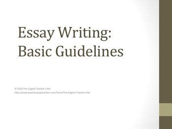 Writing thesis exercises
